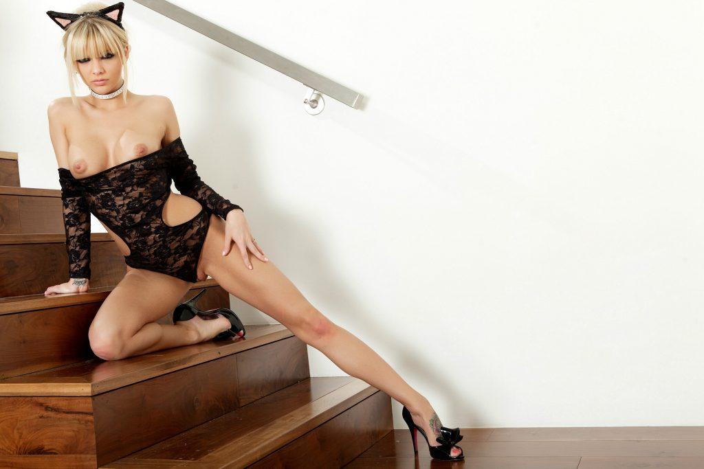 Slim Sexy Escort with Big Breasts